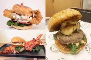 【屯門美食】屯門高質平價美式漢堡小店  原隻龍蝦/鵝肝安格斯漢堡