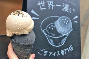 【東京Cafe 2021】日本東京「世界第一濃」黑白芝麻雪糕 芝麻味濃郁起沙似芝麻糊!