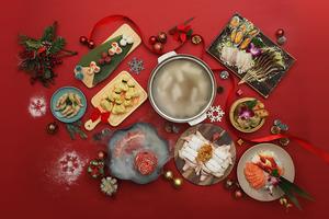 【聖誕火鍋】四季文昌推聖誕限定火鍋套餐 冰牛肉聖誕樹/和牛丸/酒釀肉串