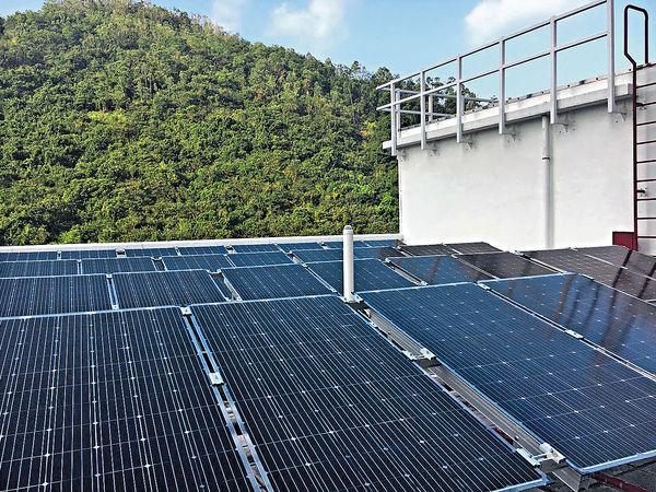 響應電費回購 樂善堂11校設太陽能板 年產13萬度電