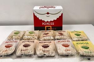 【聖誕禮物】台灣人氣KiKi拌麵新出香港聖誕特別版禮盒  一盒五款送禮一流