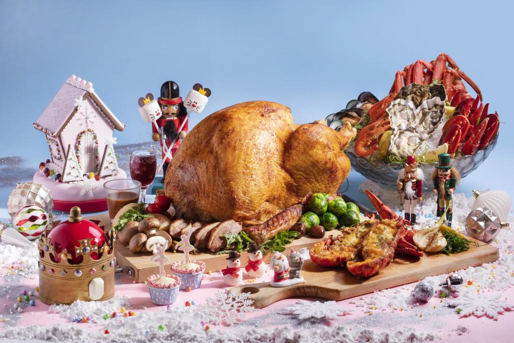 【聖誕自助餐】旺角酒店胡桃夾子聖誕自助餐  任食多款海鮮/夢幻造形甜品
