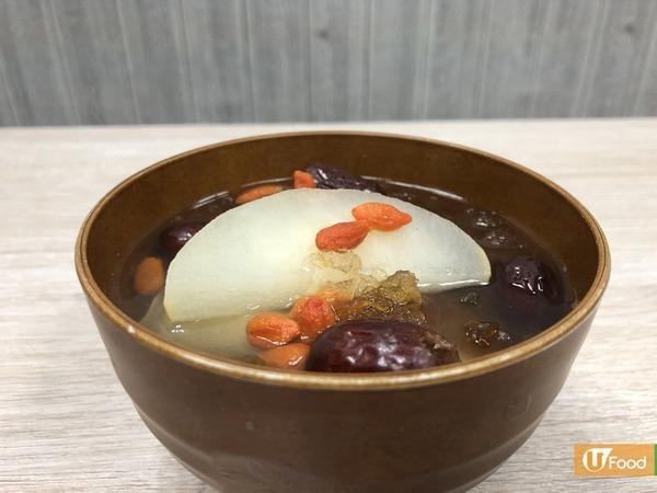 【桃膠食譜】秋冬滋潤甜品!紅棗雪梨桃膠糖水