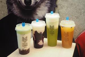 茶狼新推出季節限定飲品!紫薯鮮奶碳焙烏龍茶/奶蓋茶