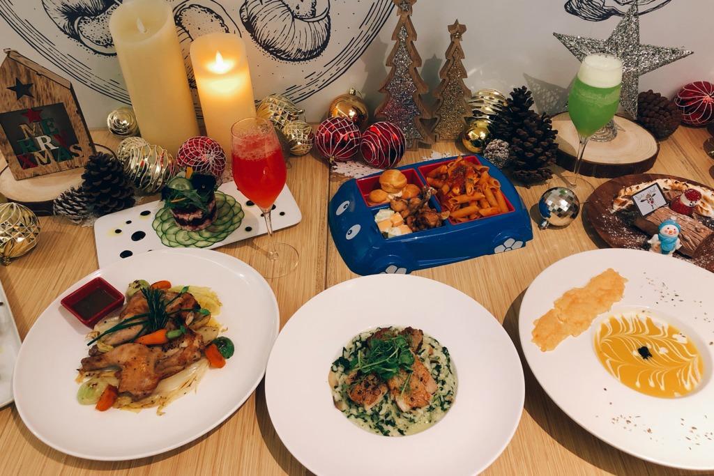 【聖誕大餐2018】油麻地Love Café聖誕晚餐早鳥預訂優惠  聖誕木頭蛋糕/朱古力火鍋/安格斯肉眼排