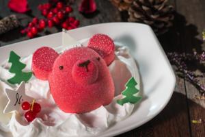 【聖誕大餐2018】agnès b. Cafe聖誕節限定菜式 小熊造型蛋糕/煙三文魚他他