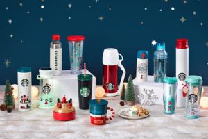 韓國Starbucks 2018新推出冬日聖誕Starbucks杯,有胡桃夾子Starbucks杯、小熊聖誕襪公仔杯、LED燈水杯和音樂盒,非常精美!