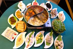 【半山素食】純素餐廳心齋推冬日限定四格火鍋 5款湯底選擇+超過50款配料任食
