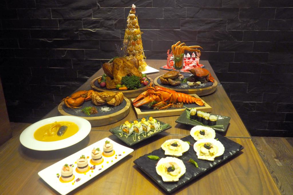 【聖誕自助餐】將軍澳酒店聖誕蟹宴主題自助餐 任食多款海鮮/Häagen-Dazs雪糕/聖誕甜品
