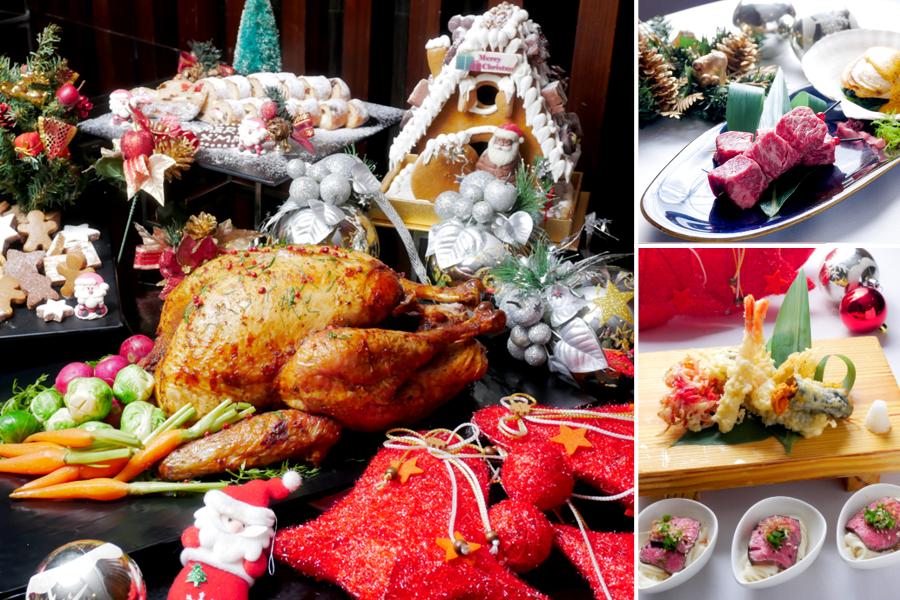 當和牛海膽遇上聖誕佳餚