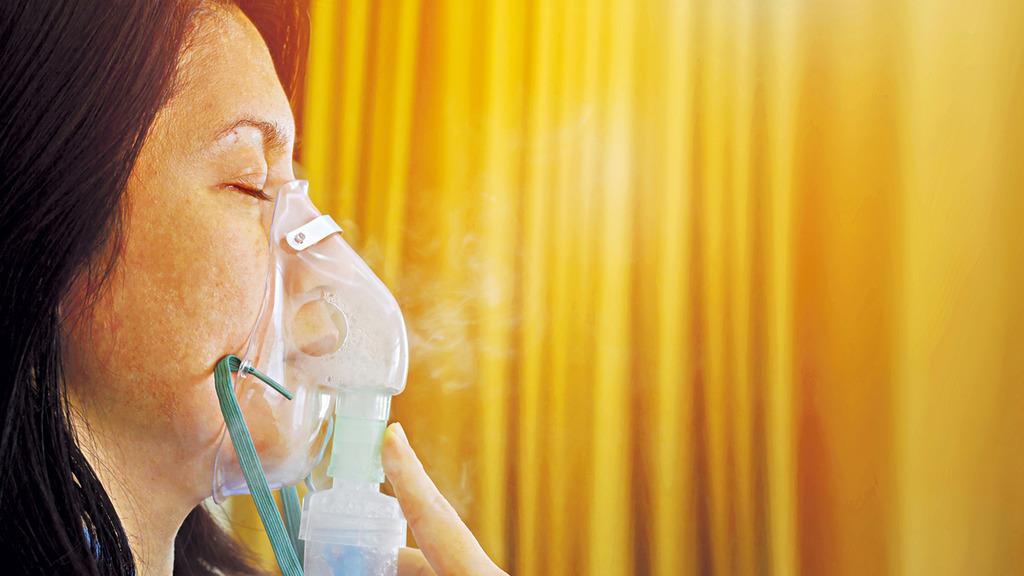 「標靶藥治嚴重哮喘 減一半病發機會」