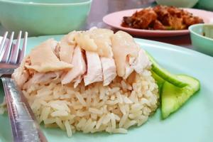 【曼谷美食】泰國曼谷老字號抵食$10海南雞飯 雞肉嫩滑有油香