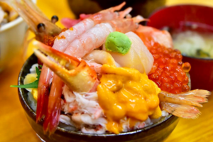 【日本美食2019】日本北海道人氣三角市場 足料魚生海膽丼飯多到滿瀉!