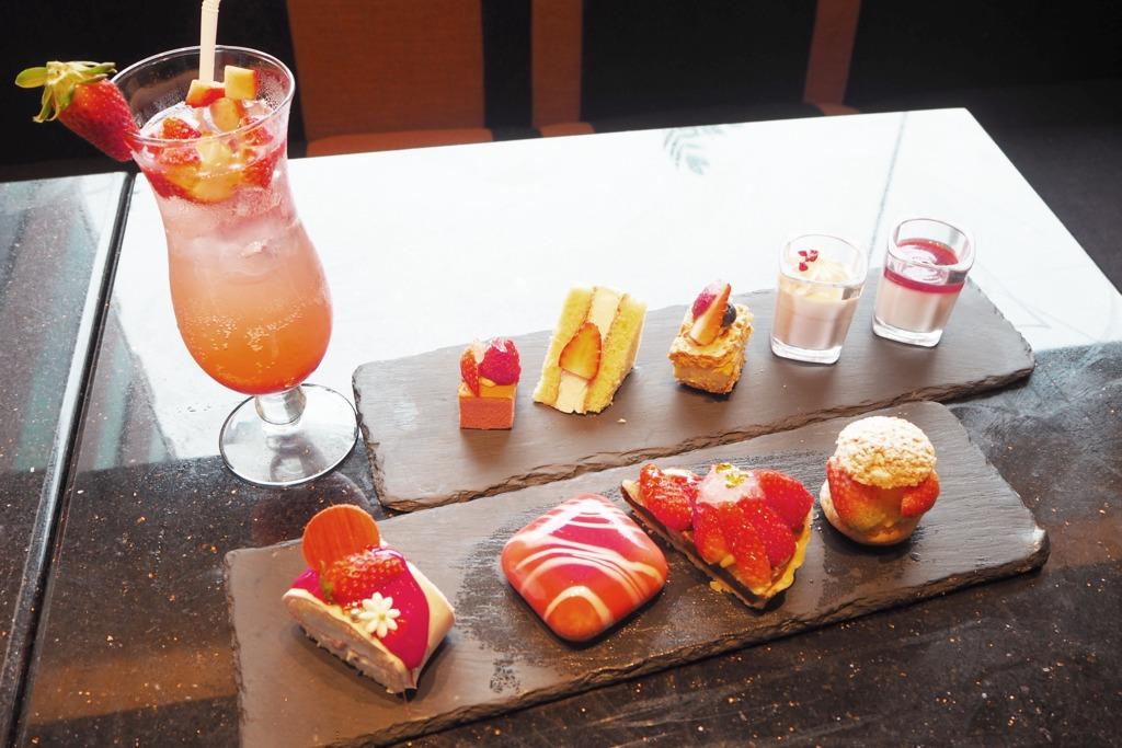 【沙田自助餐】沙田酒店推出草莓蜜語自助餐 任食多款士多啤梨甜品/Movenpick雪糕