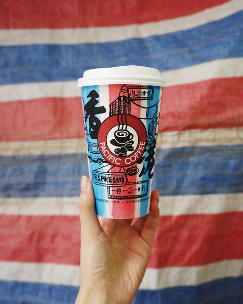 為陳校長免費補習天地籌款 Pacific Coffee彩繪杯大募集 發揮創意兼行善