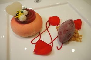 【中環美食】Tea WG情人節限定套餐 玫瑰挪威三文魚/乳酪慕絲