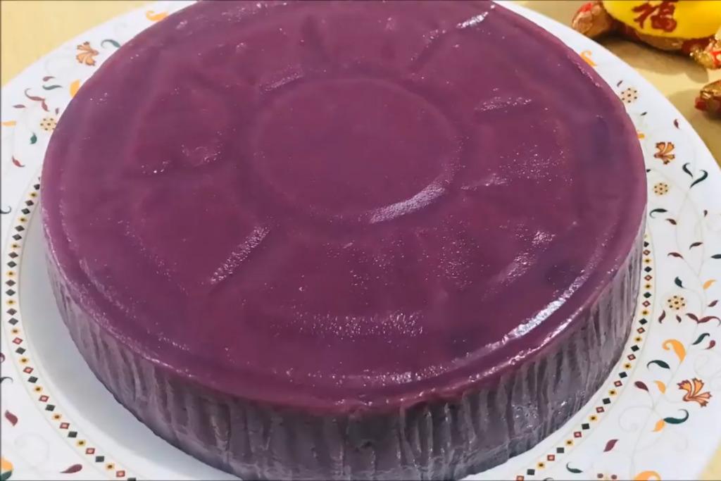 【賀年食品】農曆新年新穎賀年糕點  超簡易紫薯年糕