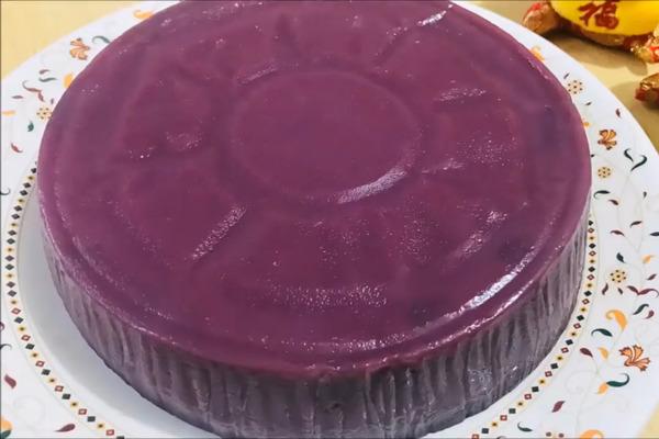 【賀年食品】農曆新年新穎賀年糕點  超簡易紫薯年糕食譜