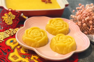 【賀年食品】零失敗賀年糕點食譜 煙韌黃金奶黃年糕