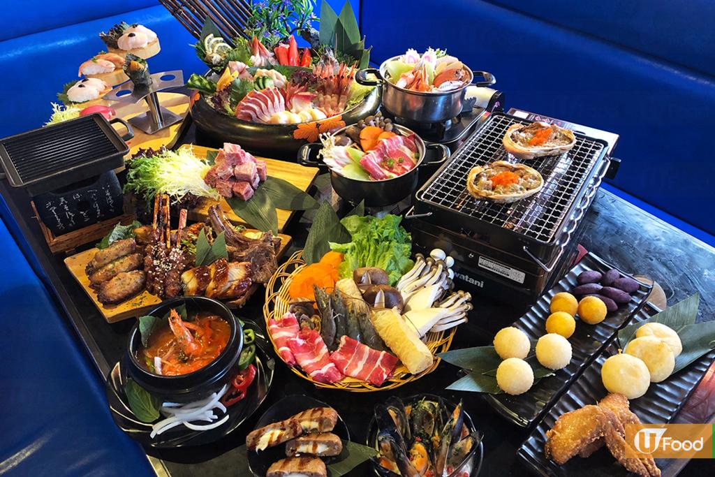 旺角放題餐廳「極上帝王水產」和「神戶屋日韓放題」推出新年期間限定身份證號碼優惠,最高可享個人費用全免!
