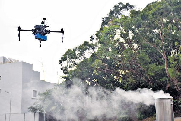 無人機傳感器 2分鐘查船排放污染物