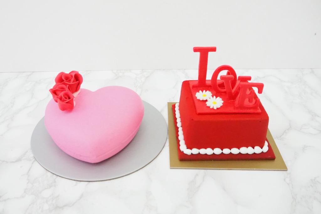 【聖安娜蛋糕】聖安娜推出限定情人節蛋糕系列 3D粉紅愛心蛋糕/朱古力紅桑子慕絲蛋糕