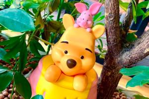 韓國Winne The Pooh爆谷筒