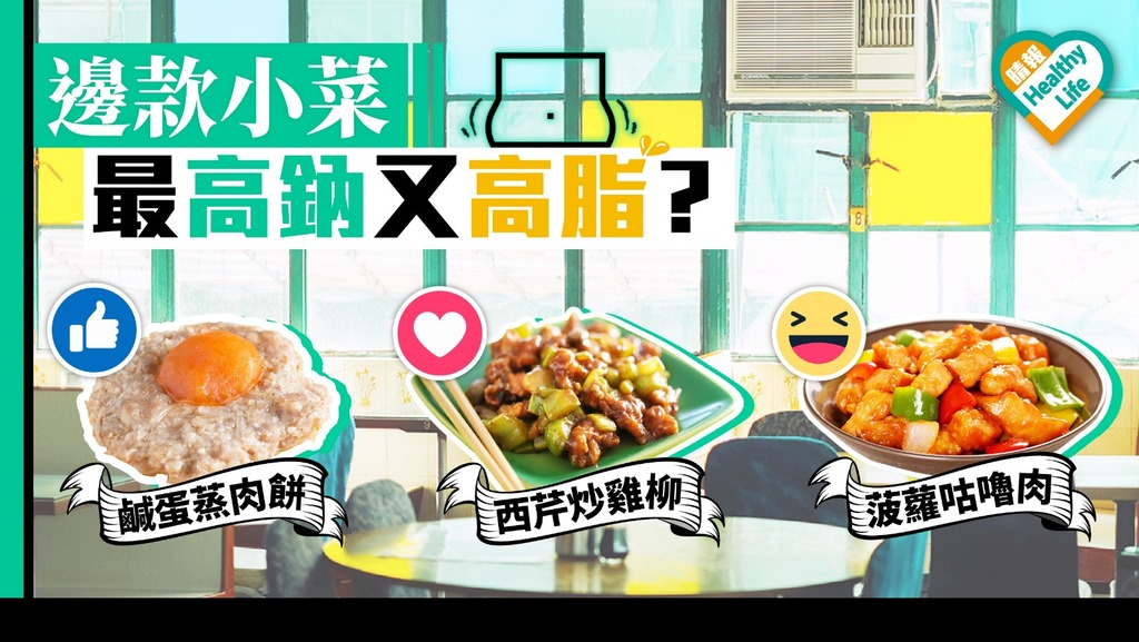 10款茶餐廳常吃小菜 邊款最高鈉高脂?