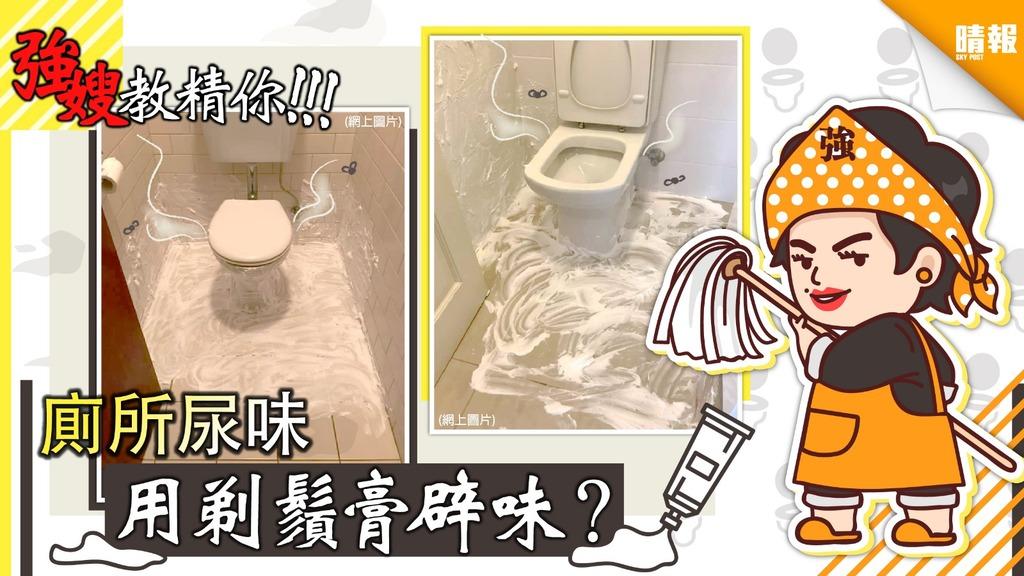 廁所尿味 可用剃鬚膏嚟辟味?【強嫂家務小知識】