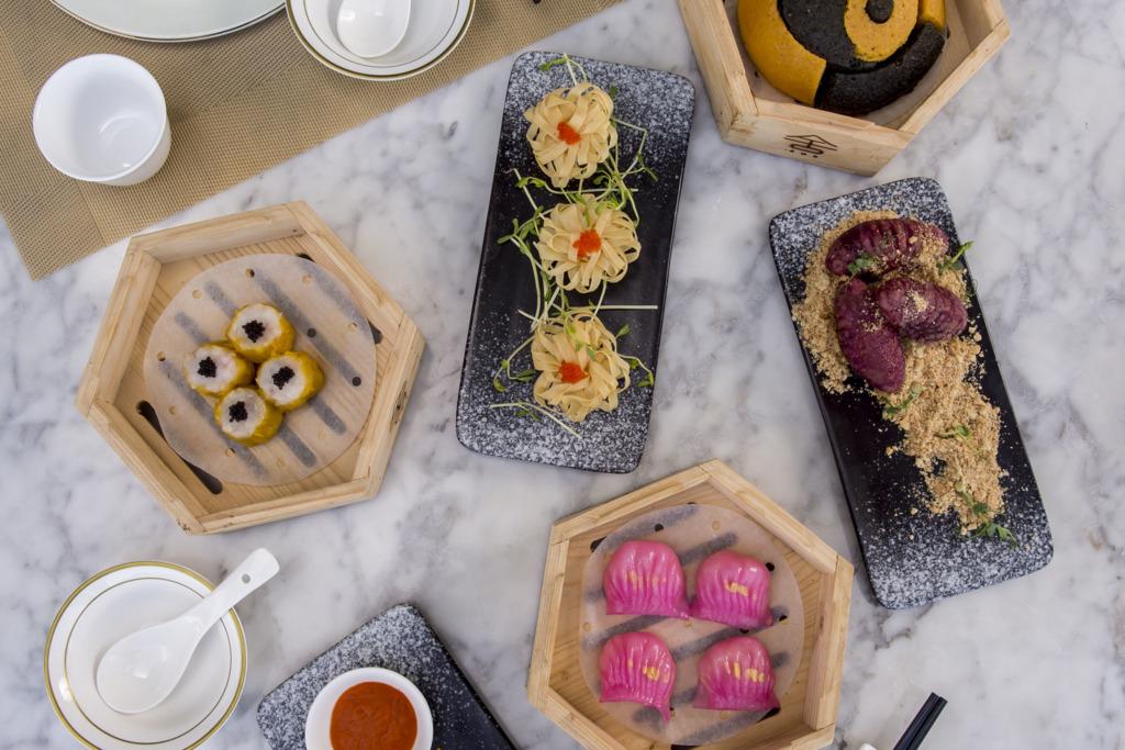 【中環下午茶】中環摩登中菜餐廳推全新下午茶 歎8款特色點心+維港景緻