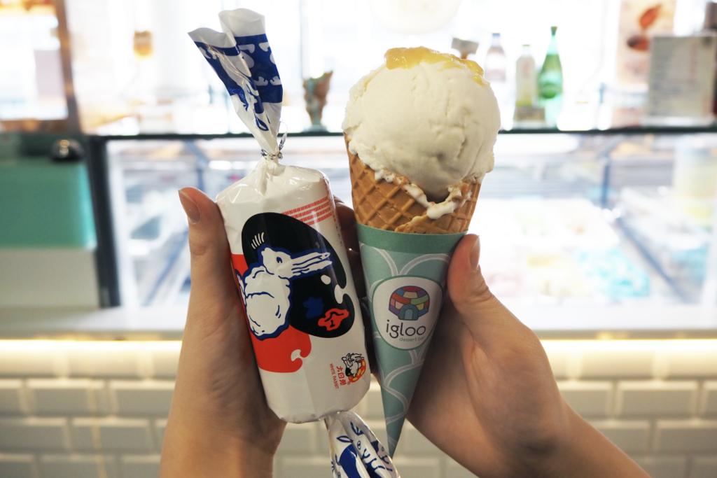 【中環美食】香港都食到大白兔糖雪糕 !中環手工雪糕店Igloo Dessert Bar食勻多款Gelato口味
