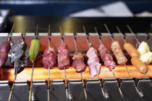 【旺角美食】旺角新開「串Grill 」自助燒烤專門店    3小時自助串燒放題任食M5和牛/牛舌/黑毛豬