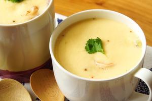 【減肥食譜】1個杯就整到高蛋白減肥餐! 滑嫩鮮蝦馬鈴薯蒸蛋