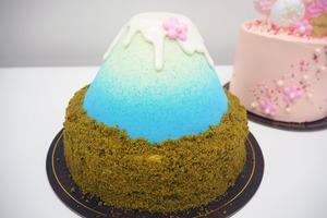 【生日蛋糕推介2021】女朋友/閨蜜生日蛋糕打卡推薦 流心富士山下蛋糕/櫻花樹下蛋糕 充滿少女心!