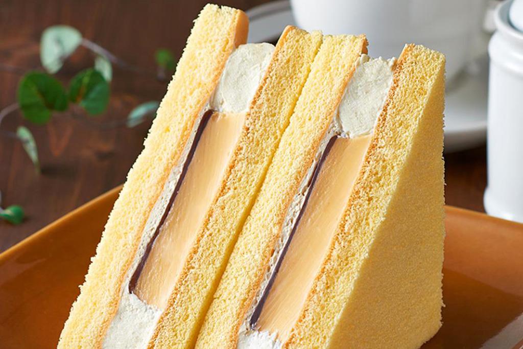 【日本FamilyMart 必食】日本便利店熱賣甜品 滑捊捊焦糖布丁蛋糕三文治