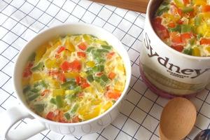 【減肥食譜】超簡單低卡高蛋白減肥料理 蔬菜牛奶蒸蛋