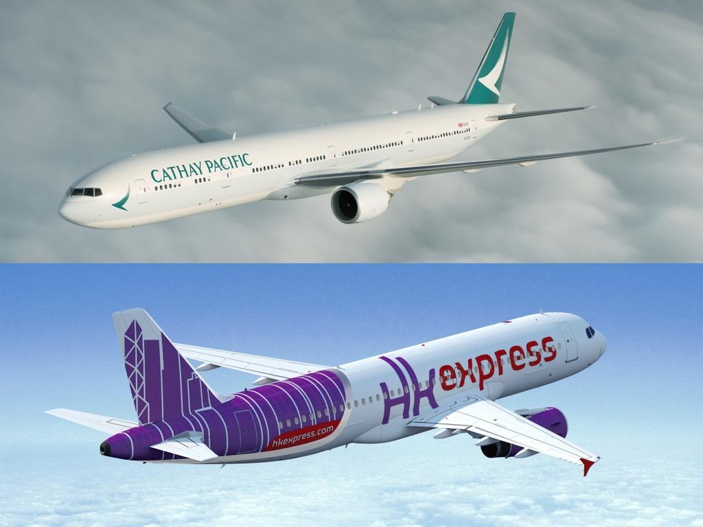 傳國泰航空落實收購hk Express 香港快運網民 改名cathay Express Ezone Hk 網絡生活 網絡熱話 D190326