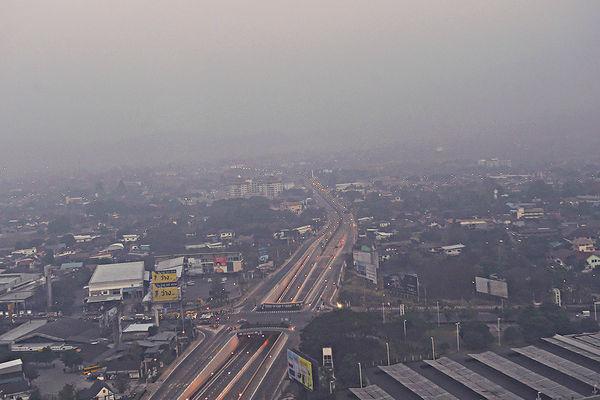 清邁霧霾超標 全球市區最嚴重