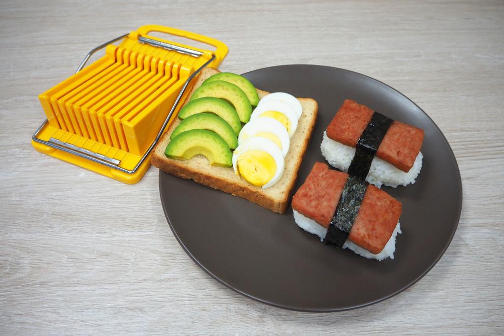 【懶人神器】懶人必備!實測快速切午餐肉刀 自製午餐肉壽司無難度