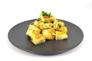 【中式食譜】15分鐘快速完成懶人食譜  低成本黃金咸蛋豆腐