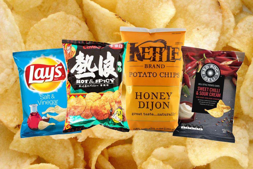 【薯片品牌】薯片界米芝蓮!網民推介10大最好味薯片品牌  Lays成為大嬴家!