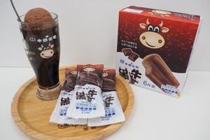 【便利店新品】率先試食雀巢新推出黑牛朱古力雪條  外層可樂冰+朱古力雪糕