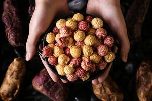 【星球工坊香港】淡淡蕃薯甜香!星球工坊推出新口味雙色地瓜爆谷