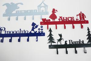 【便利店新品】便利店新出迪士尼衣架掛勾  有齊小木偶、小飛象、愛麗絲及小鹿斑比