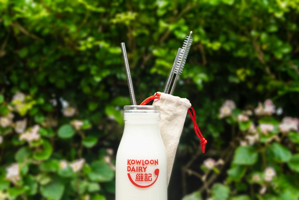 【環保飲管】維記牛奶便利店環保新優惠 買4枝樽裝鮮奶加$1換不鏽鋼飲管套裝