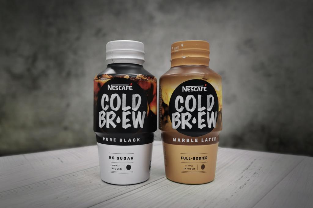 【便利店新品】雀巢咖啡推出cold brew即飲裝 醇黑咖啡/雲石牛奶咖啡