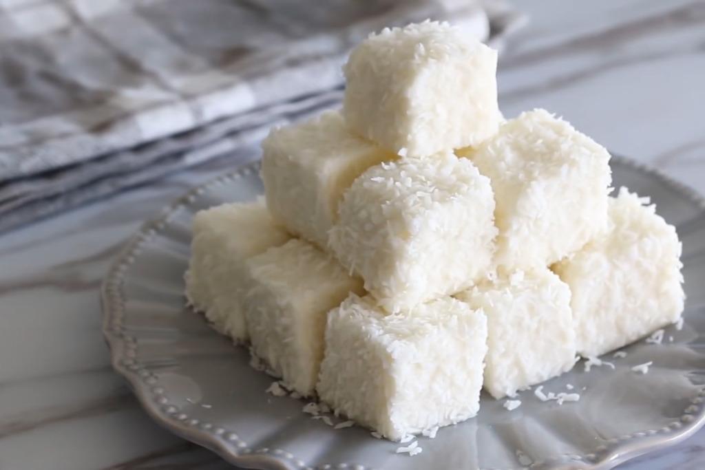 【甜品食譜】消暑一流!簡易冰涼甜品食譜 香滑牛奶椰汁雪花糕