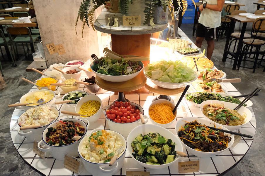 【走肉朋友旺角】大角咀人氣素食自助餐 全新主題以水果入饌素食