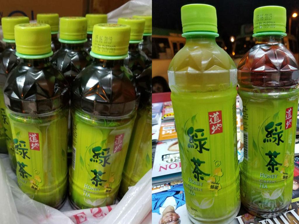 不同舖買同一品牌蜂蜜綠茶有不同色? 網民:一支深色到好似烏龍茶