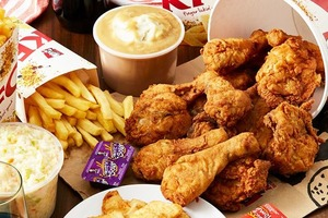 【KFC】網傳南非學生扮炸雞檢測員呃食KFC KFC官方回應實屬虛假新聞